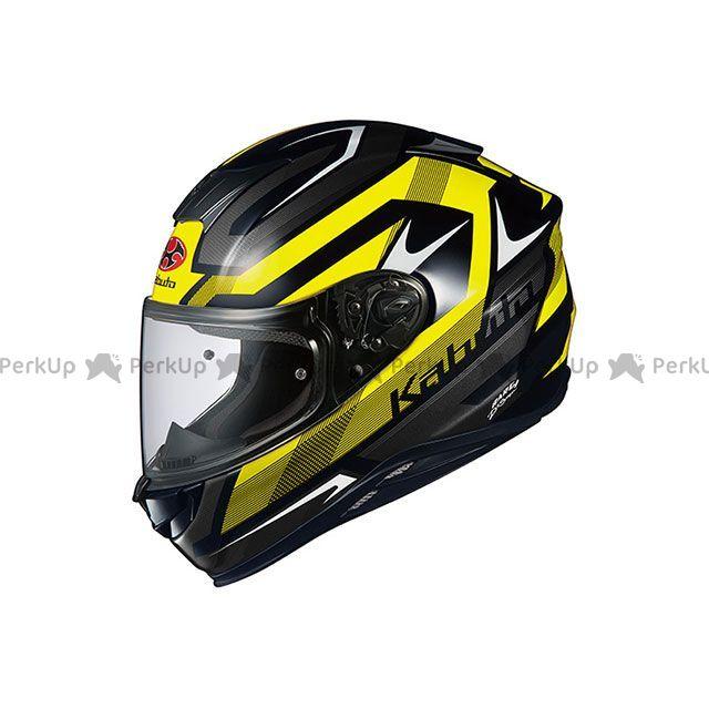 送料無料 OGK KABUTO オージーケーカブト フルフェイスヘルメット AEROBLADE-5 RUSH(エアロブレード・ファイブ ラッシュ) ブラック/イエロー L/59-60cm
