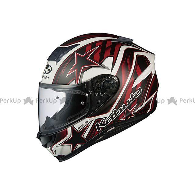 OGK KABUTO フルフェイスヘルメット AEROBLADE-5 VISION(エアロブレード・ファイブ ヴィジョン) フラットブラック/レッド サイズ:S/55-56cm OGK KABUTO