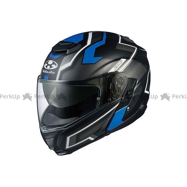 送料無料 OGK KABUTO オージーケーカブト システムヘルメット(フリップアップ) IBUKI DARK(イブキ・ダーク) フラットブラック/ブルー XXL/62cm以上