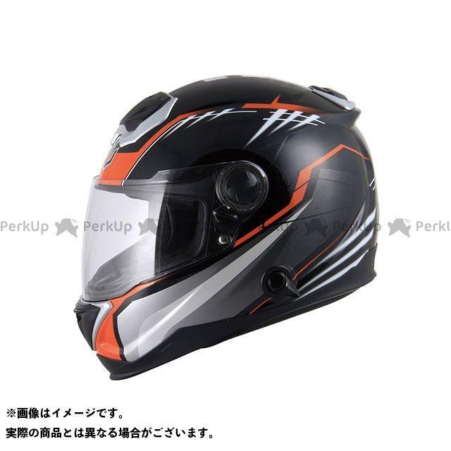ZEALOT ジーロット フルフェイスヘルメット BullRaider(ブルレイダー) GRAPHIC ブラック/オレンジ S/55-56cm