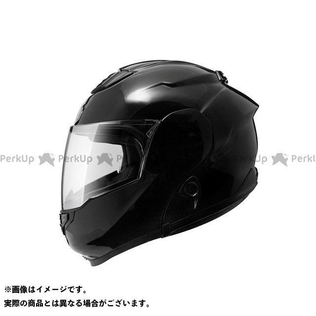 ZEALOT ジーロット システムヘルメット(フリップアップ) ZG SystemTourer(ZG システムツアラー) SOLID ブラック M/57-58cm