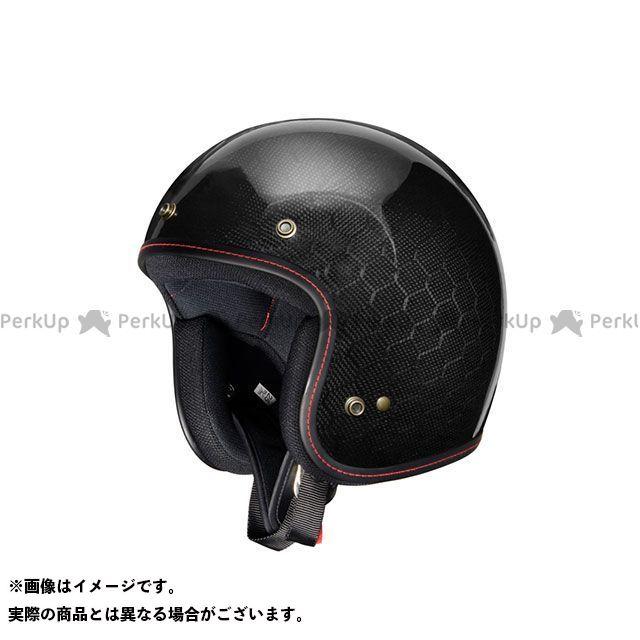 ZEALOT ジーロット ジェットヘルメット FlyboyJet(フライボーイジェット) CARBON HYBLID HEXAGON L/59-60cm