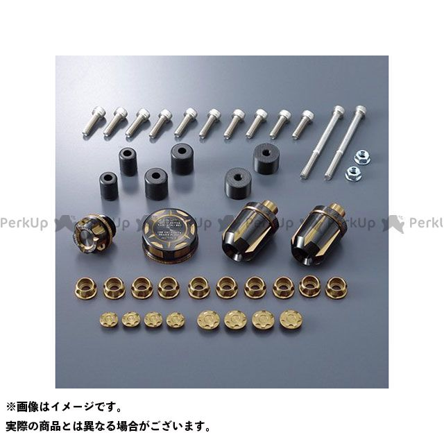 Y'S GEAR MT-10 ドレスアップ・カバー ビレットパーツセット(ゴールド) ワイズギア