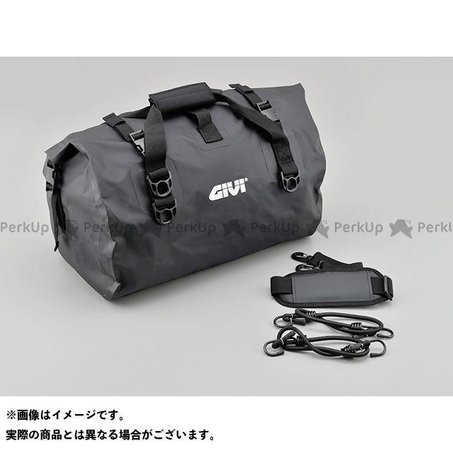 【エントリーで更にP5倍】GIVI ツーリング用バッグ EA115BK 防水ドラムバッグ 40L(ブラック) ジビ