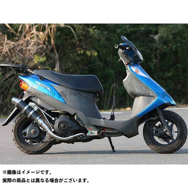 WINDJAMMERS アドレスV125 アドレスV125S マフラー本体 スネーク・コーン・パイプ WJ-R 250mm サイレンサー仕様 サイレンサー:ブラックステンレス ウインドジャマーズ
