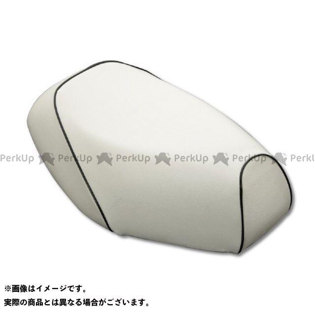 Grondement PCX125 シート関連パーツ PCX125(初期/EPSエンジン) グロンドマン国産シートカバー 被せ(白) 仕様:黒パイピング グロンドマン