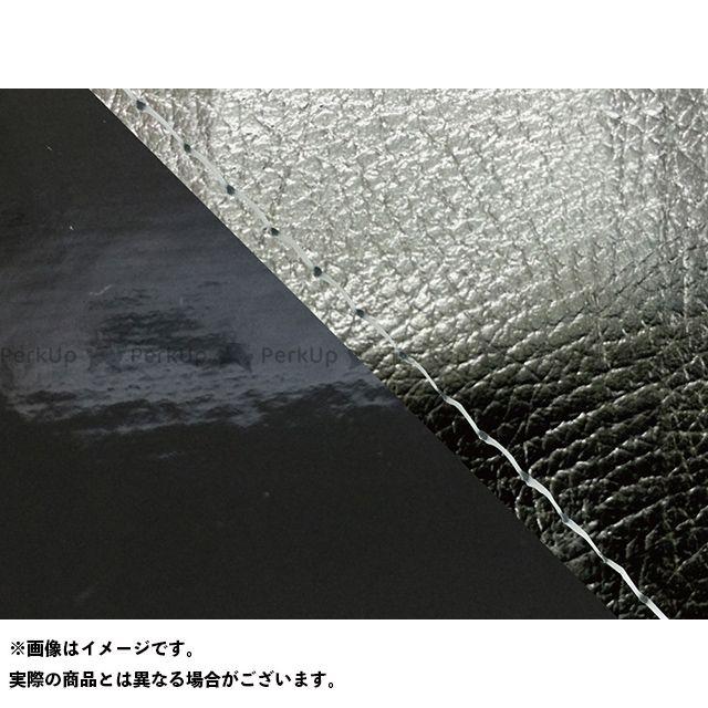 Grondement FZ1フェザー(FZ-1S) シート関連パーツ FZ1 フェザー(10年~)シングル(フロント側) グロンドマン国産シートカバー 張替(黒・エナメルブラック) 仕様:透明ステッチ グロンドマン