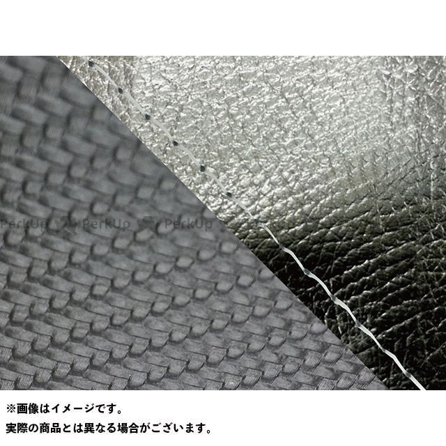 Grondement FZ1フェザー(FZ-1S) シート関連パーツ FZ1 フェザー(10年~)シングル(フロント側) グロンドマン国産シートカバー 張替(黒・カーボンブラック) 仕様:透明ステッチ グロンドマン