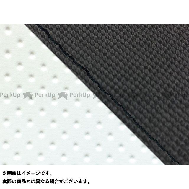 Grondement FZ1フェザー(FZ-1S) シート関連パーツ FZ1 フェザー(10年~)シングル(フロント側) グロンドマン国産シートカバー 張替(スベラーヌブラック・エンボスホワイト) 仕様:黒ステッチ グロンドマン