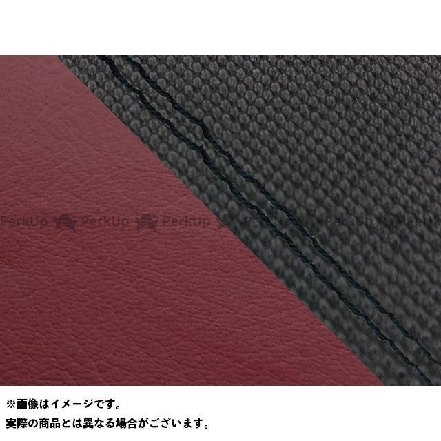 Grondement FZ1フェザー(FZ-1S) シート関連パーツ FZ1 フェザー(10年~)シングル(フロント側) グロンドマン国産シートカバー 張替(スベラーヌブラック・ワインレッド) 仕様:黒ダブルステッチ グロンドマン