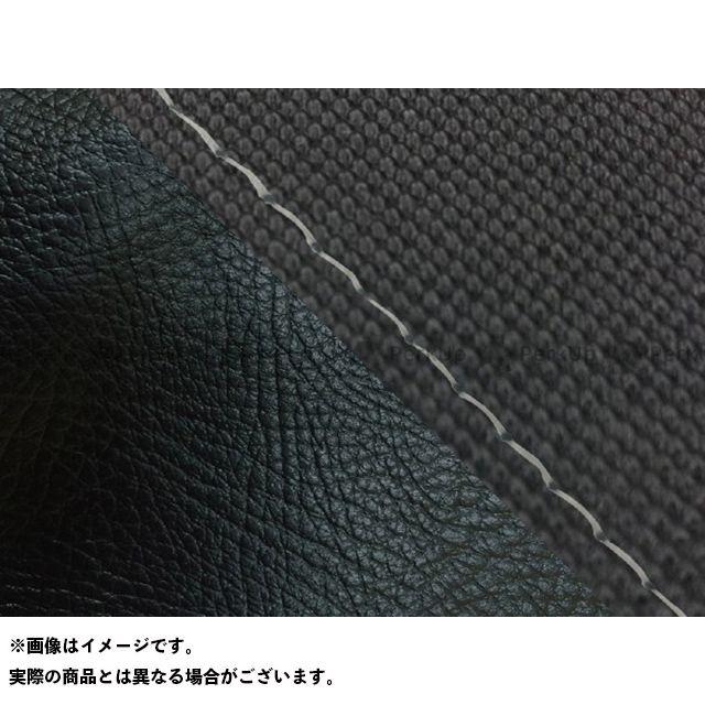 Grondement FZ1フェザー(FZ-1S) シート関連パーツ FZ1 フェザー(10年~)シングル(フロント側) グロンドマン国産シートカバー 張替(スベラーヌブラック・黒) 仕様:透明ステッチ グロンドマン