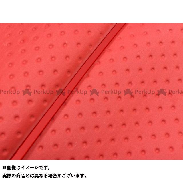 Grondement リード80SS シート関連パーツ リード80SS グロンドマン国産シートカバー 張替(フルエンボスレッド) 仕様:赤パイピング グロンドマン
