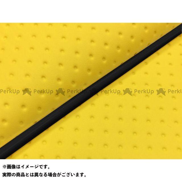 Grondement リード80SS シート関連パーツ リード80SS グロンドマン国産シートカバー 張替(フルエンボスイエロー) 仕様:黒パイピング グロンドマン