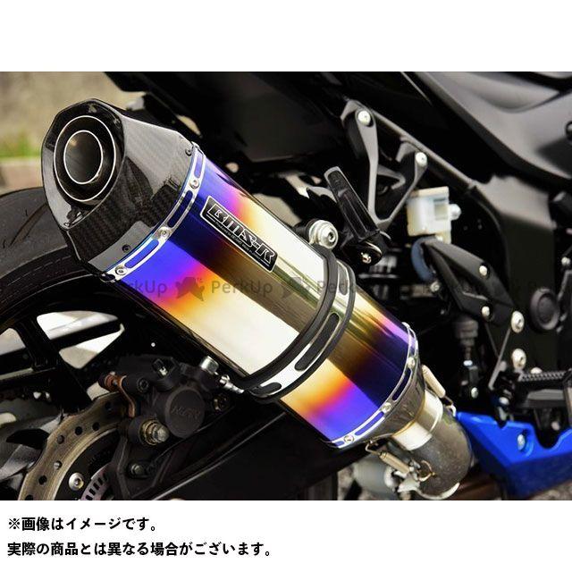 BMS RACING FACTORY GSX-S750 マフラー本体 GT-CORSA スリップオンマフラー ヒートチタン 政府認証 BMS