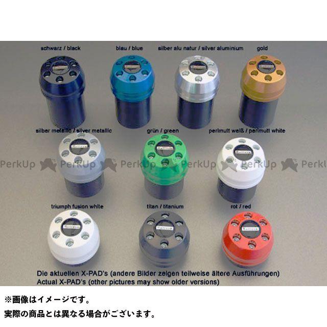 Peitzmeier Xディアベル スライダー類 クラッシュパッド X-Pad カラー:アルミニウムシルバー パイツマイヤー
