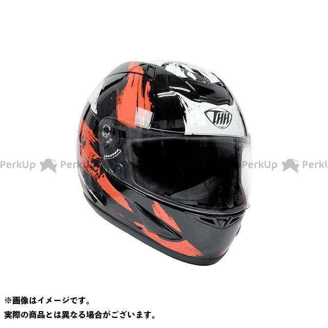 THH ティーエイチエイチ フルフェイスヘルメット TS-41 フルフェイスヘルメット(ロードレイジ-ブラック/レッド) XXL