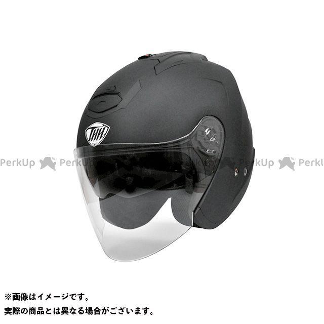 ティーエイチエイチ ジェットヘルメット T-386 ジェットヘルメット(マットブラック) サイズ:XXL THH