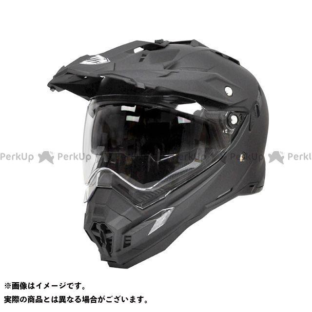 THH ティーエイチエイチ オフロードヘルメット TX-27 オフロードヘルメット(マットブラック) XXL