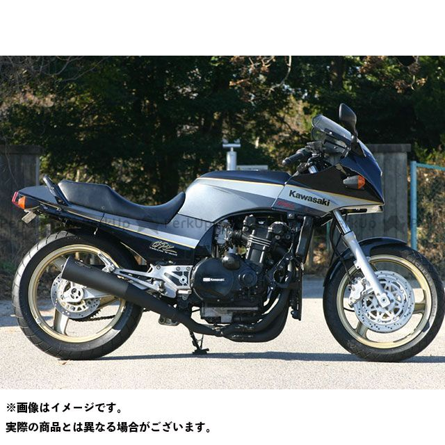 NOJIMA ニンジャ900 マフラー本体 メガホン4-1(SUS機械曲げ)