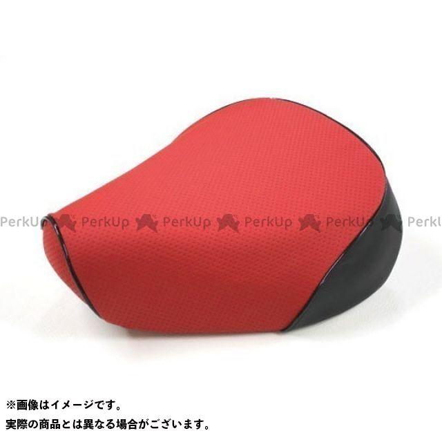 Grondement クロスカブ110 シート関連パーツ クロスカブ(JA10/CC110) 国産シートカバー エンボスレッド タイプ:被せ 仕様:黒パイピング グロンドマン