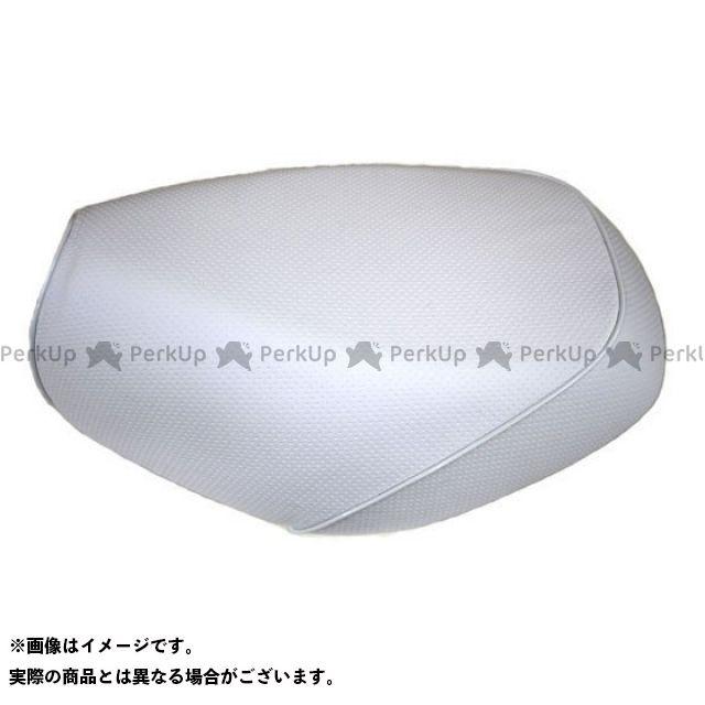 Grondement クロスカブ110 シート関連パーツ クロスカブ(JA10/CC110) 国産シートカバー エンボス白 タイプ:被せ 仕様:白パイピング グロンドマン
