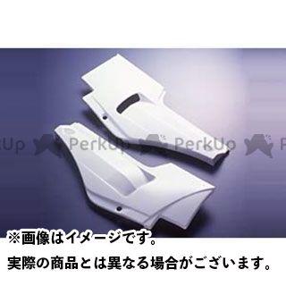 A-TECH GPZ750R ニンジャ900 カウル・エアロ サイドカバーSPL(FRP/白) 左側 エーテック
