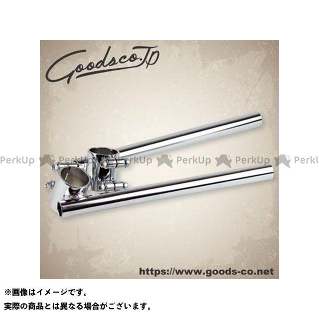 GOODS 汎用 ツーリングギア・その他ツーリング用品 セパレートハンドル 22.2mm/φ38 クローム グッズ