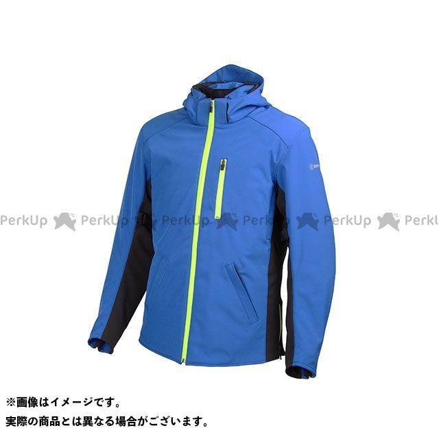 デグナー ジャケット 17WJ-11 メンズフード付ソフトシェルジャケット(ブルー) サイズ:XL DEGNER
