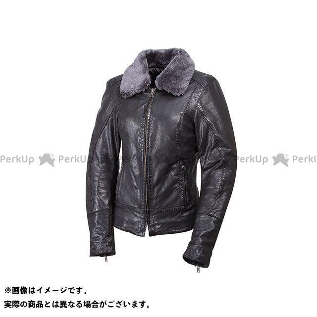 デグナー ジャケット FR17WJ-7 レディースレザージャケット(ブラック) サイズ:レディースL DEGNER