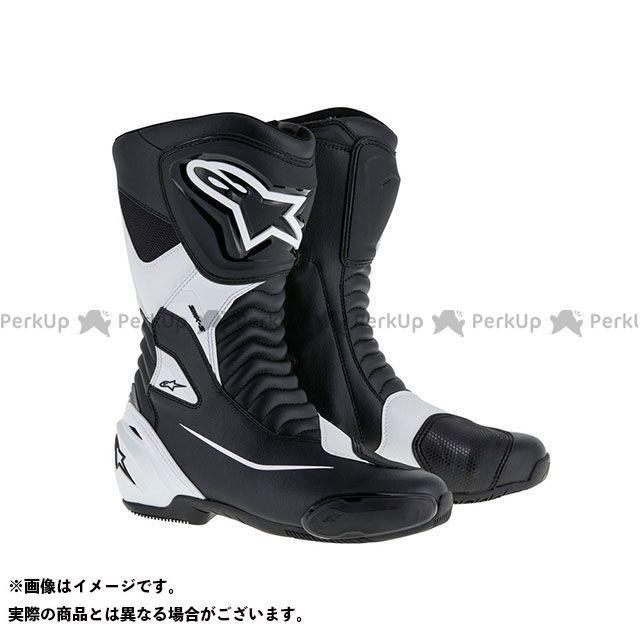 アルパインスターズ ライディングブーツ SMX-S ブーツ(ブラック/ホワイト) サイズ:45 Alpinestars
