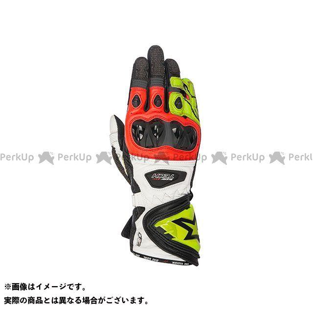 アルパインスターズ レーシンググローブ スーパーテック グローブ(ブラック/イエローフロー/レッド) サイズ:XL Alpinestars