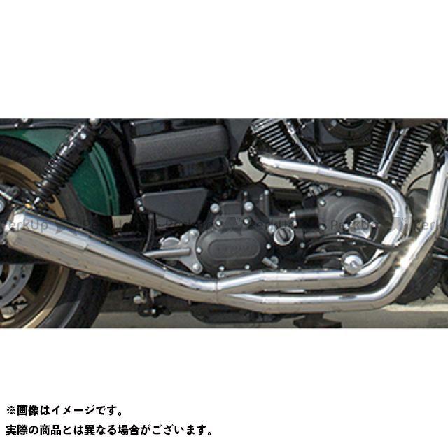 Tramp Cycle ダイナファミリー汎用 マフラー本体 TMF-048EL GlowEmit Fulltitanium Muffler 2in1 トランプ