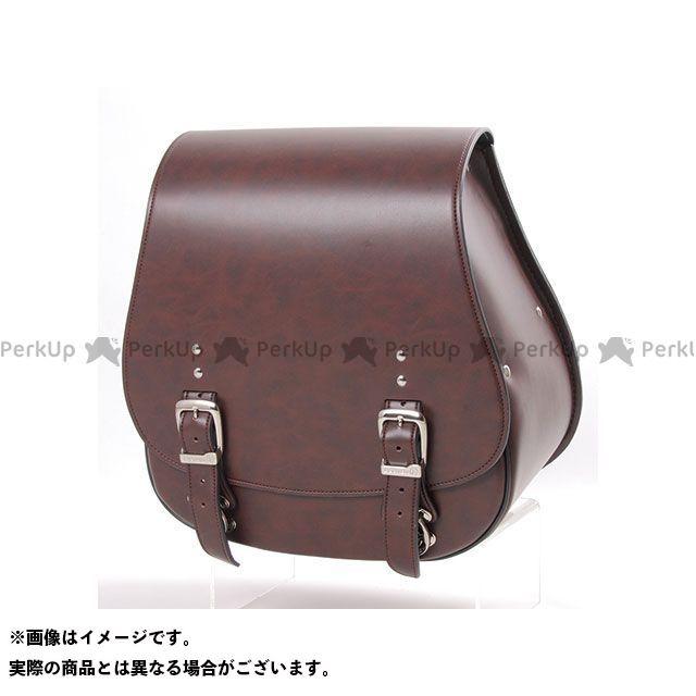 デグナー ツーリング用バッグ DSB-5 シンセティックレザーサドルバッグ(ブラウン) DEGNER