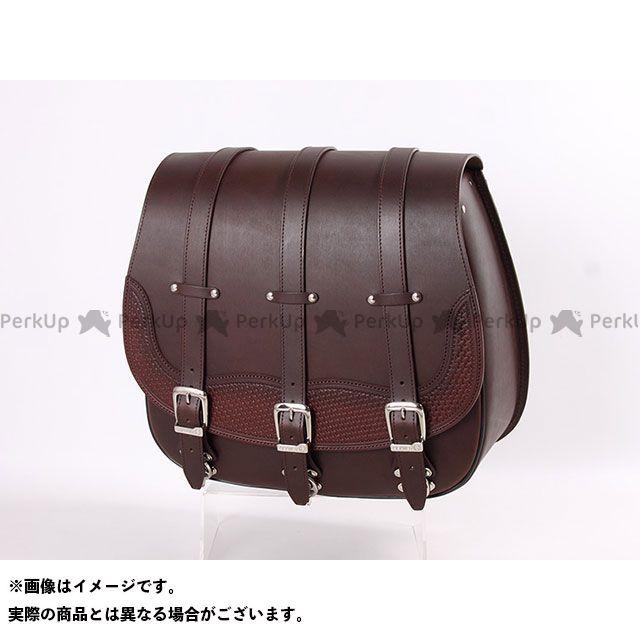 デグナー ツーリング用バッグ 【特価品】 SB-73 レザーサドルバッグ(ブラウン) DEGNER