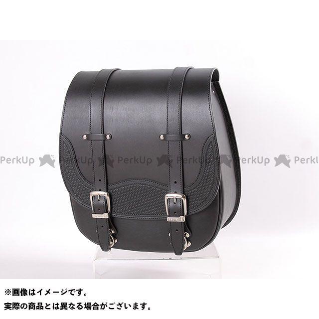 送料無料 DEGNER デグナー ツーリング用バッグ SB-72 レザーサドルバッグ(ブラック)