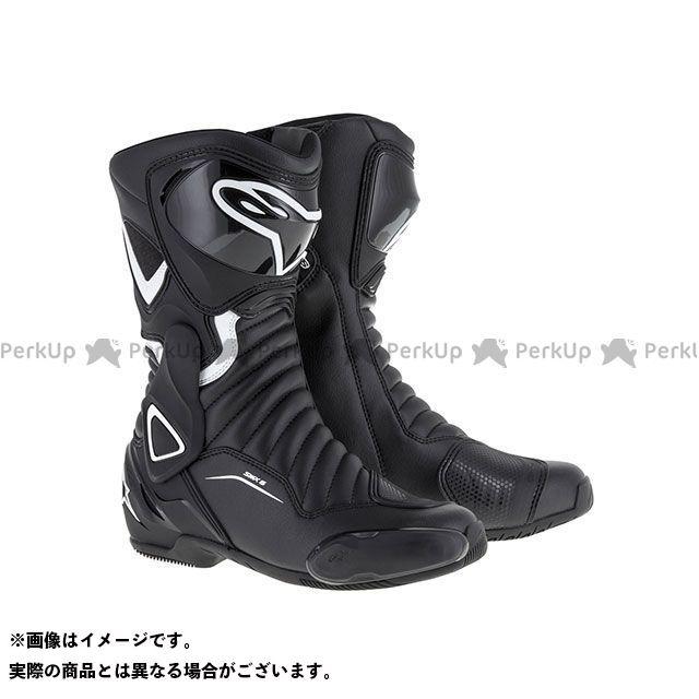 アルパインスターズ レーシングブーツ ステラ SMX 6 ブーツ(ブラック/ホワイト) サイズ:37 Alpinestars