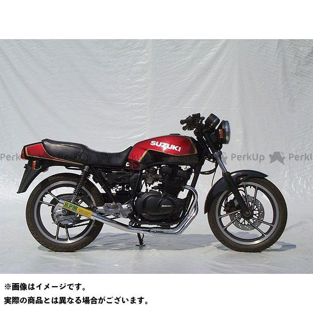 アールピーエム GSX250E マフラー本体 RPM-67Racing フルエキゾーストマフラー サイレンサーカバー:チタン RPM