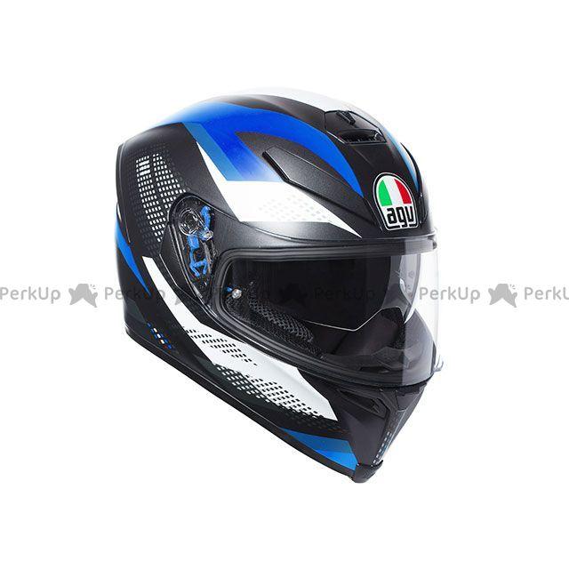 送料無料 AGV エージーブイ フルフェイスヘルメット K-5 S MARBLE MATT BLACK/WHITE/BLUE L/59-60cm