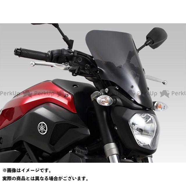 YOSHIMURA MT-07 スクリーン関連パーツ ウィンド アーマーNK(グラファイトブラック)