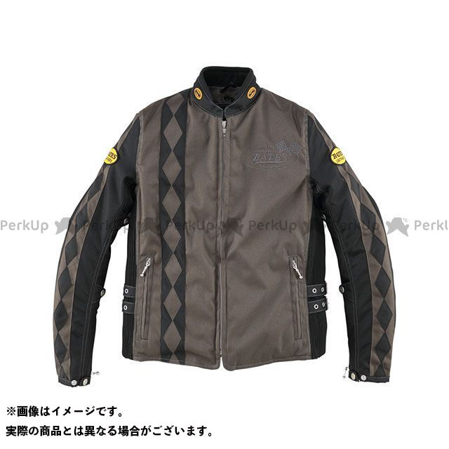 BATES ジャケット BJL-N1771V 防風ナイロンジャケット 中綿入り レディース(ブラウン) サイズ:レディースL ベイツ