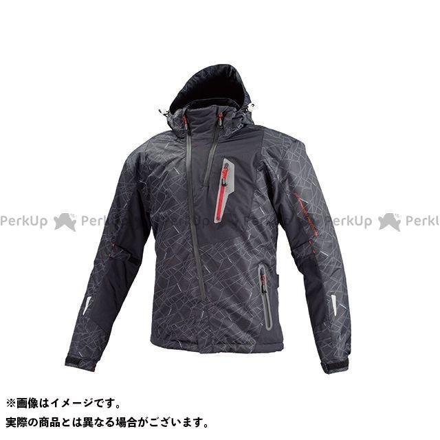KOMINE ジャケット JK-589 プロテクトウインターパーカ(ブラック) サイズ:L コミネ