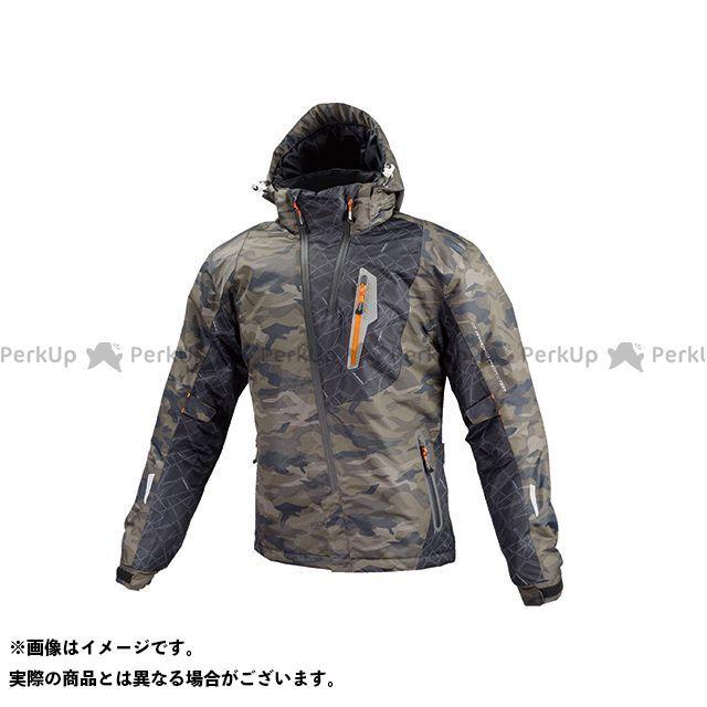 KOMINE ジャケット JK-589 プロテクトウインターパーカ(カモフラージュ) サイズ:L コミネ