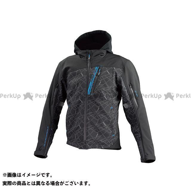 KOMINE ジャケット JK-590 プロテクトソフトシェルウインターパーカ(ブラック) XL コミネ