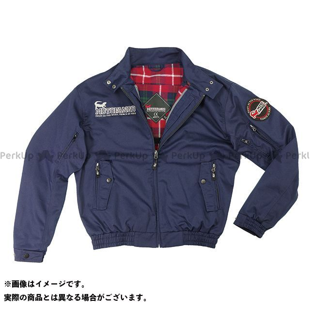 MOTOFANGO ジャケット JK-591 プロテクトスイングトップジャケット(ネイビー) サイズ:S モトファンゴ