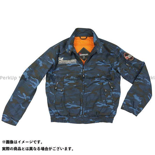MOTOFANGO ジャケット JK-591 プロテクトスイングトップジャケット(ブルーカモ) サイズ:XL モトファンゴ