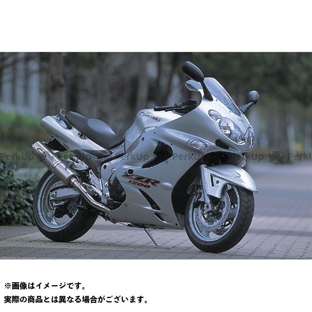 ビートジャパン ZZR1200 フェンダー エアロシャークフェンダー(白ゲル)