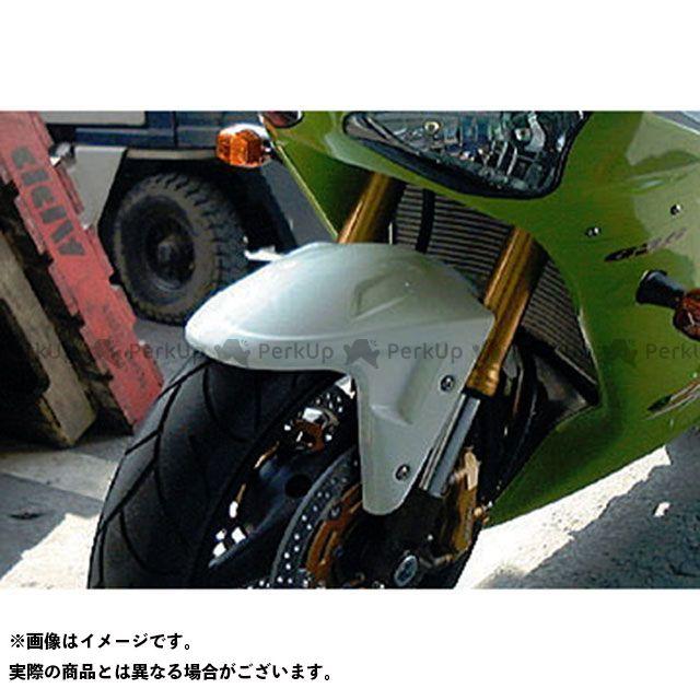 ビートジャパン ニンジャZX-6R ニンジャZX-6RR Z1000 フェンダー エアロシャークフェンダー(白ゲル)