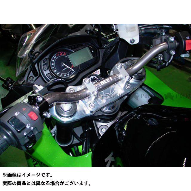 【無料雑誌付き】BEET ニンジャ1000・Z1000SX ハンドル関連パーツ バーハンドルコンバージョンキット(ハンドル付き) ブレース無しキット ビートジャパン