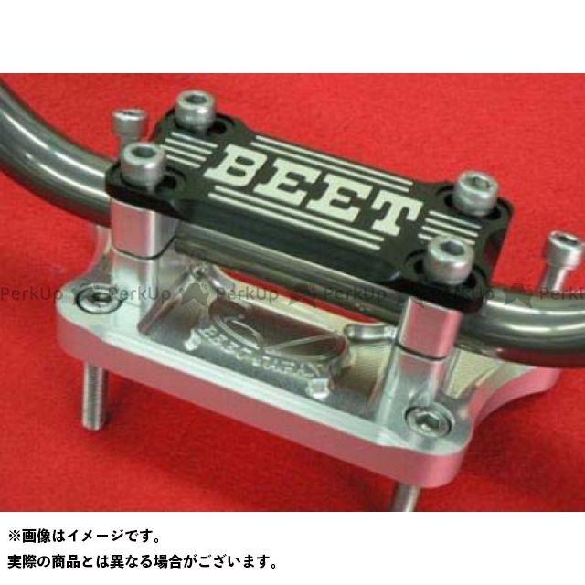 ビートジャパン ニンジャ1000・Z1000SX ハンドル関連パーツ バーハンドルコンバージョンキット(ハンドル付き) ブレース付きキット ブラック BEET