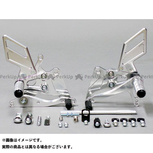 【無料雑誌付き】SANSEI RACING CBR250RR バックステップ関連パーツ ZNIC マルチステップ(ケミカルポリッシュ) サンセイ